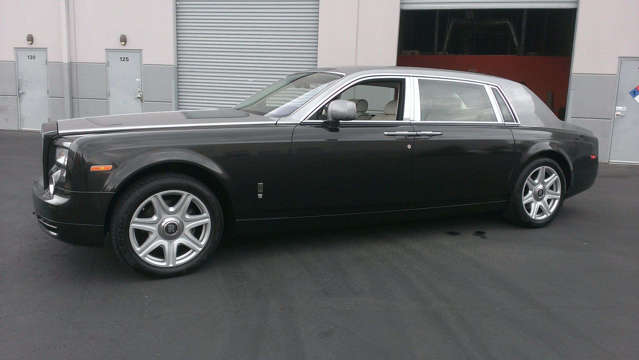 Rolls Royce Phantom Metallic Black