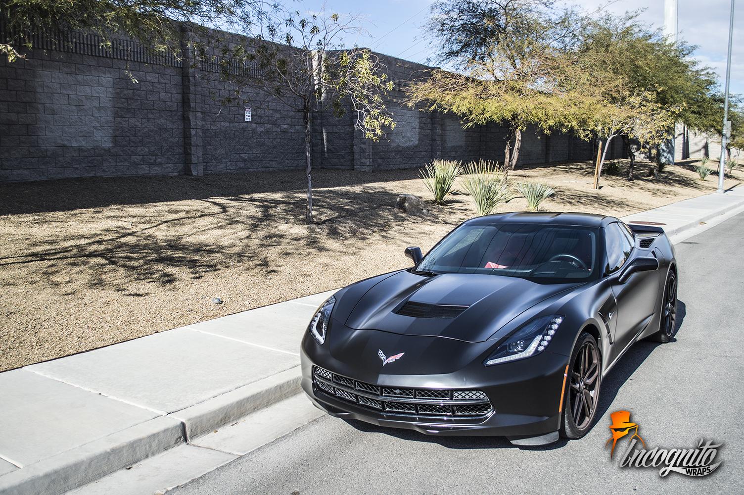 Chevrolet Corvette Satin Black