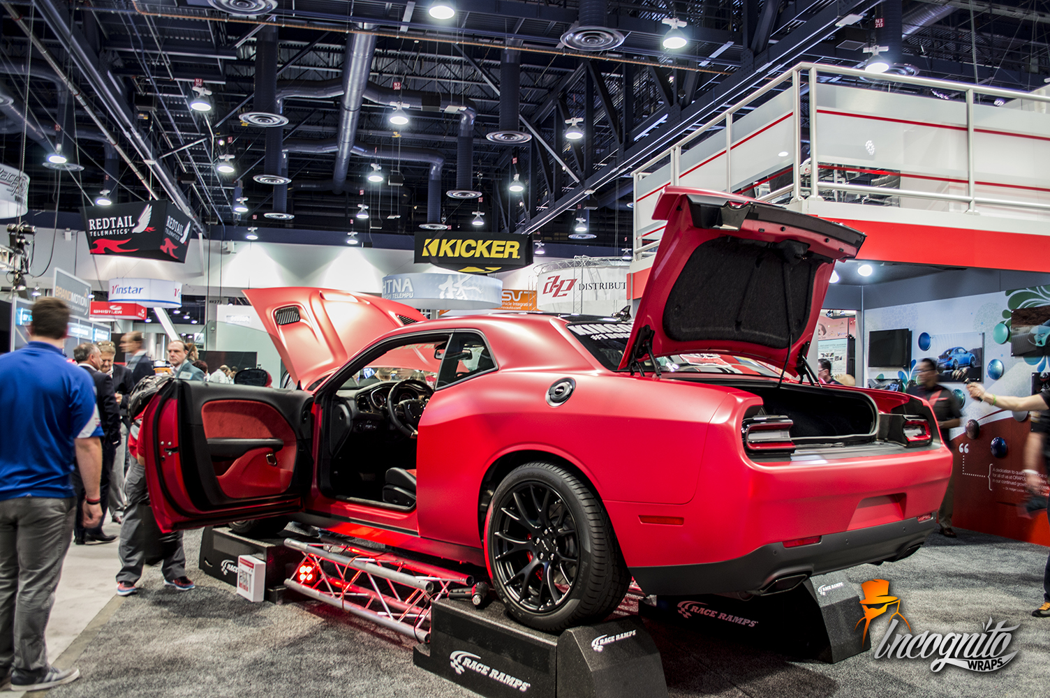Dodge Challenger Hellcat Matte Imperial Red
