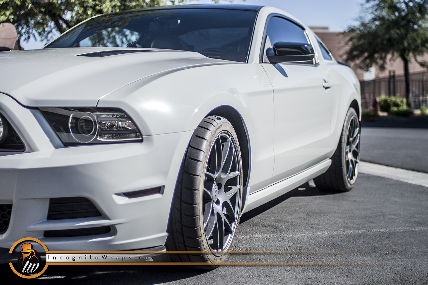 Ford Mustang GT Ice Grey