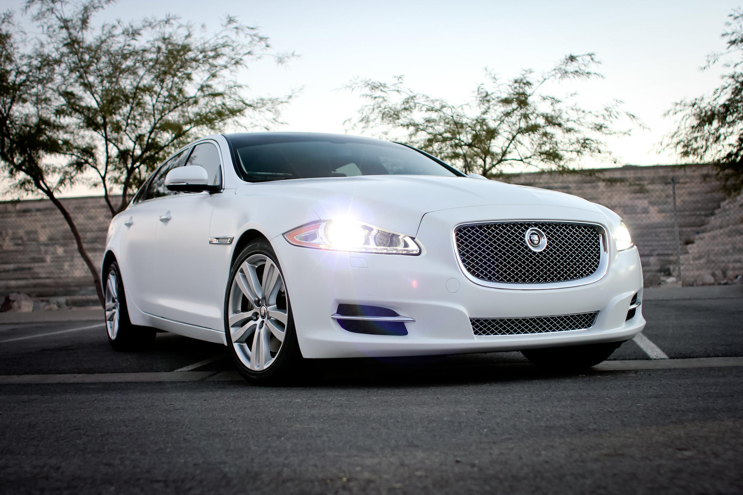 Jaguar XJL Satin White