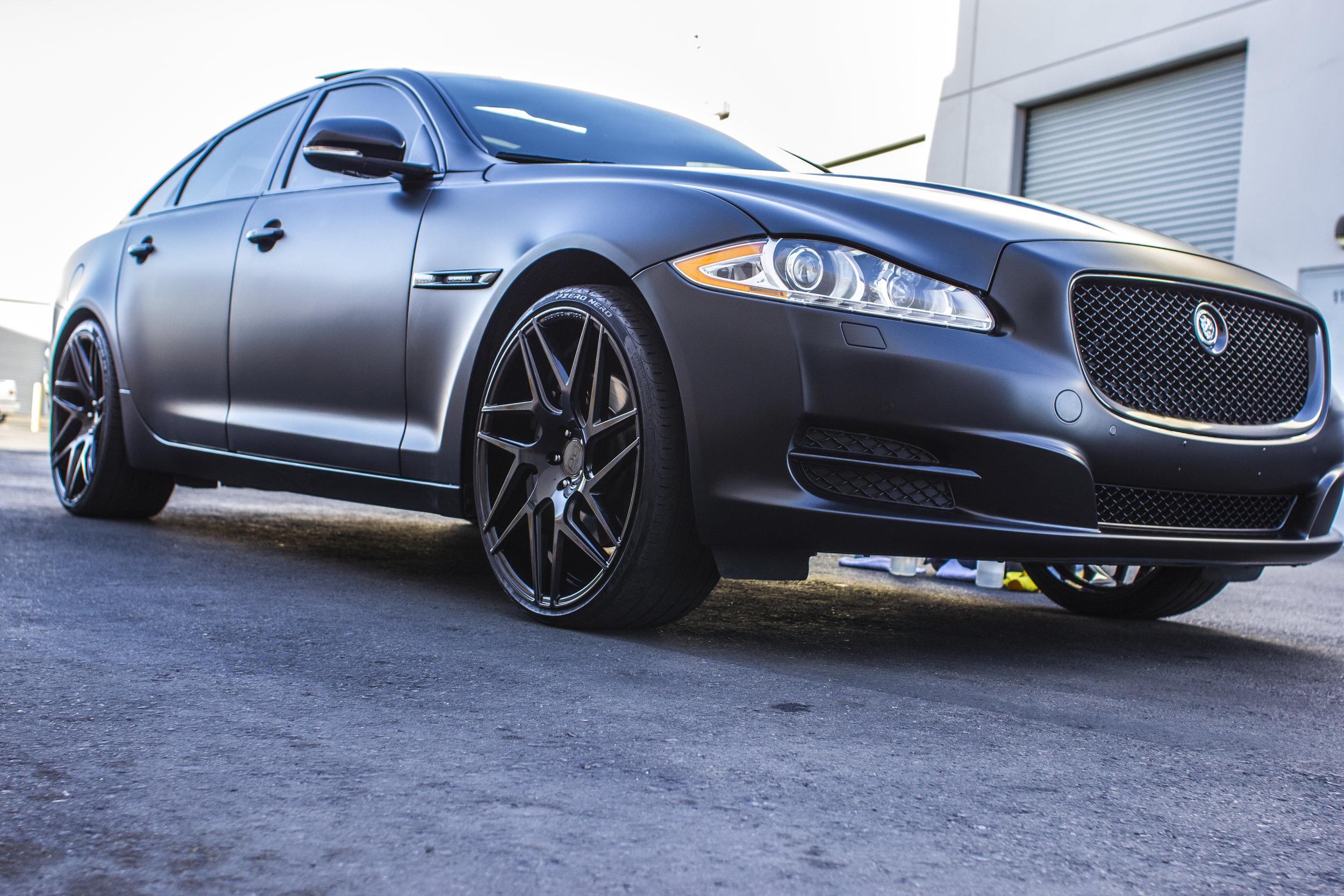 Jaguar XJL Satin Black