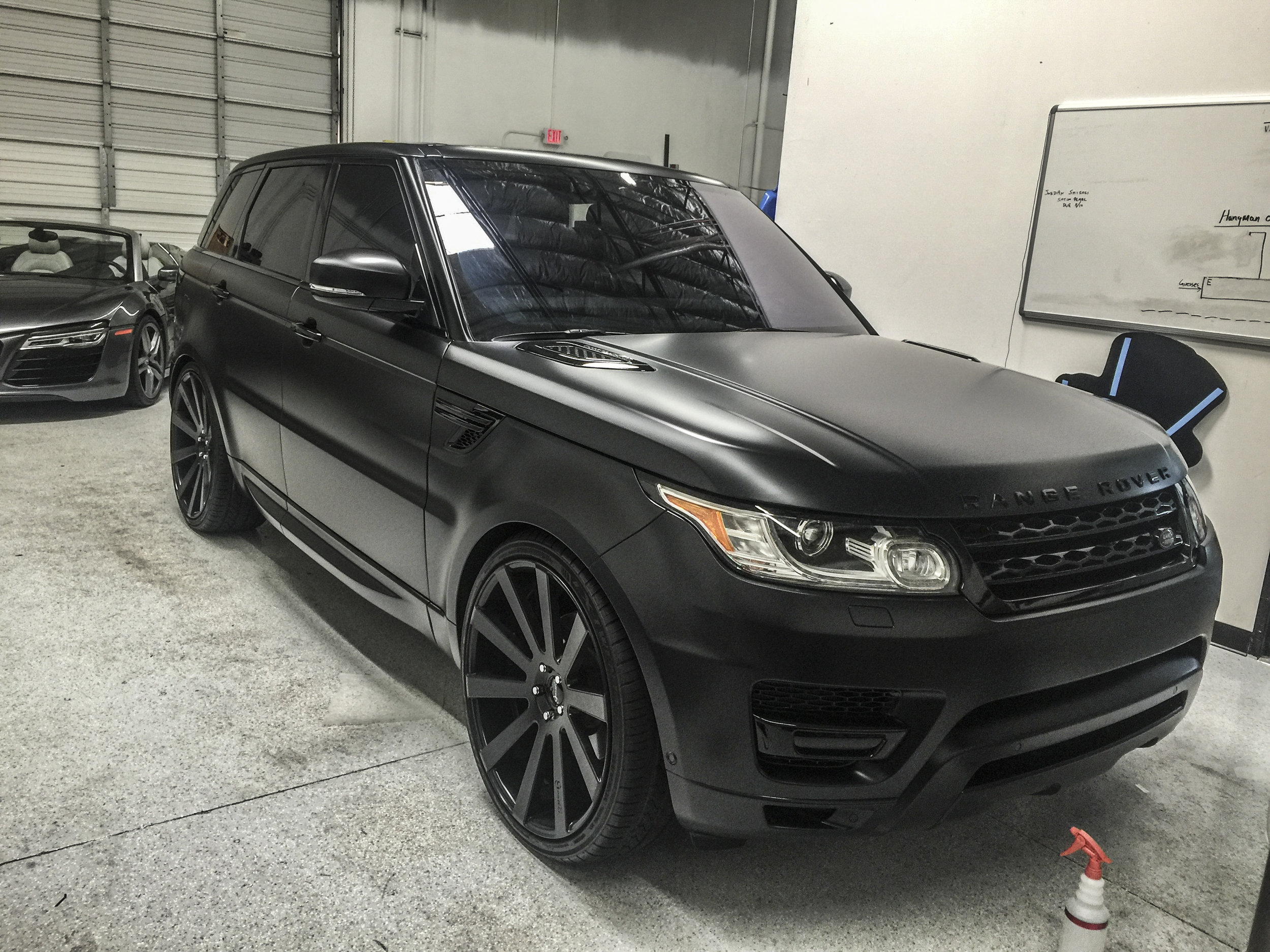 Range Rover Sport Autobiography Stealth Paint Protection