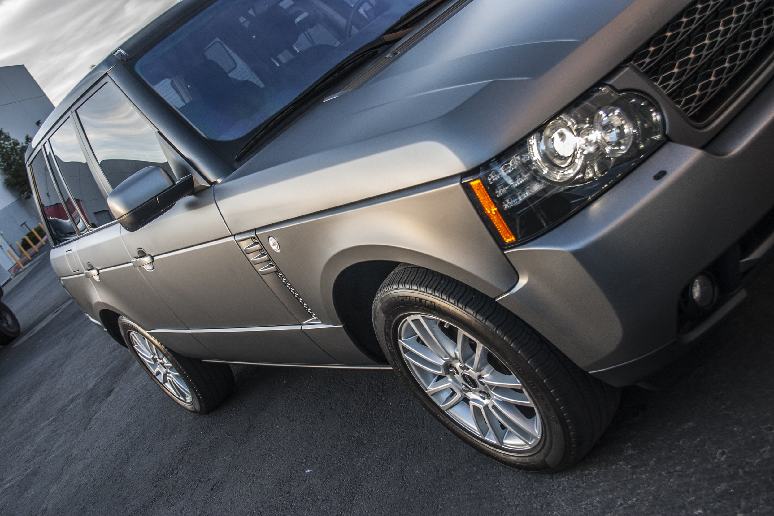 Range Rover Matte Graphite Metallic