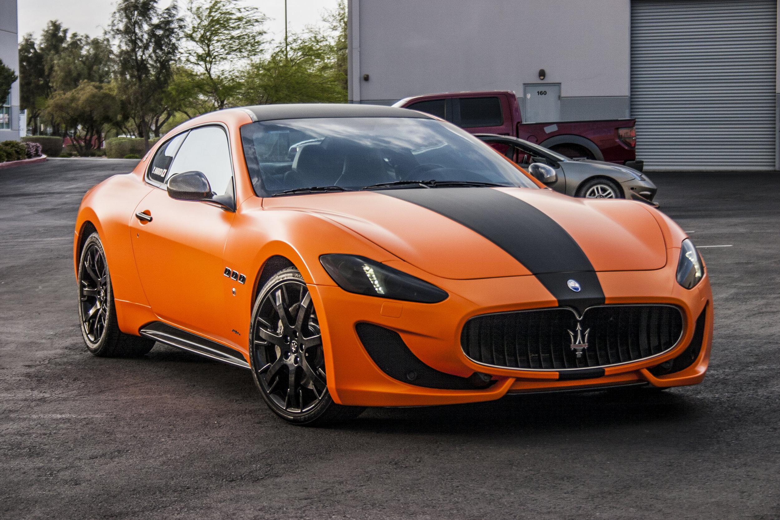 Maserati Gran Turismo Satin Orange