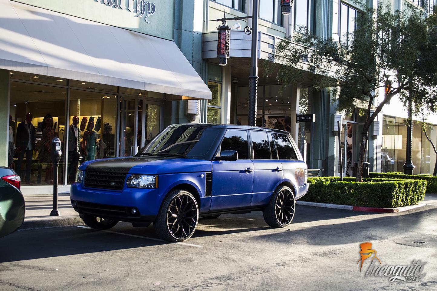 Range Rover Satin Blue