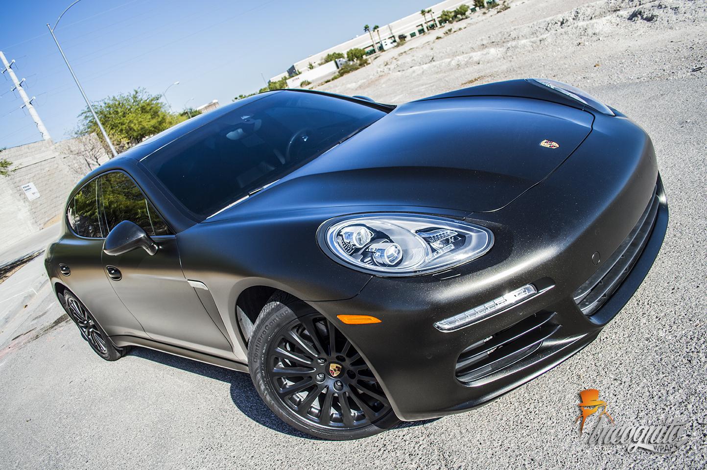 Porsche Panamera Satin Gold Dust