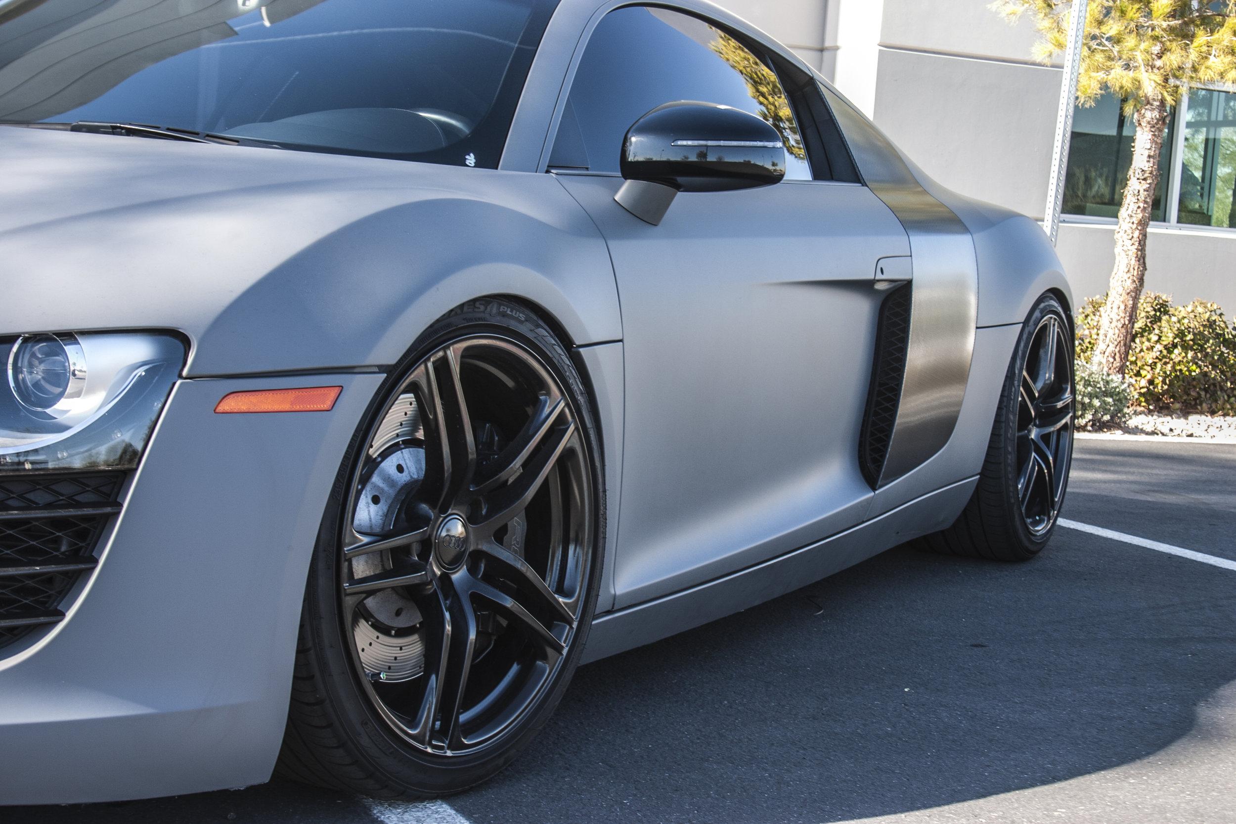Audi R8 Matte Combat Grey