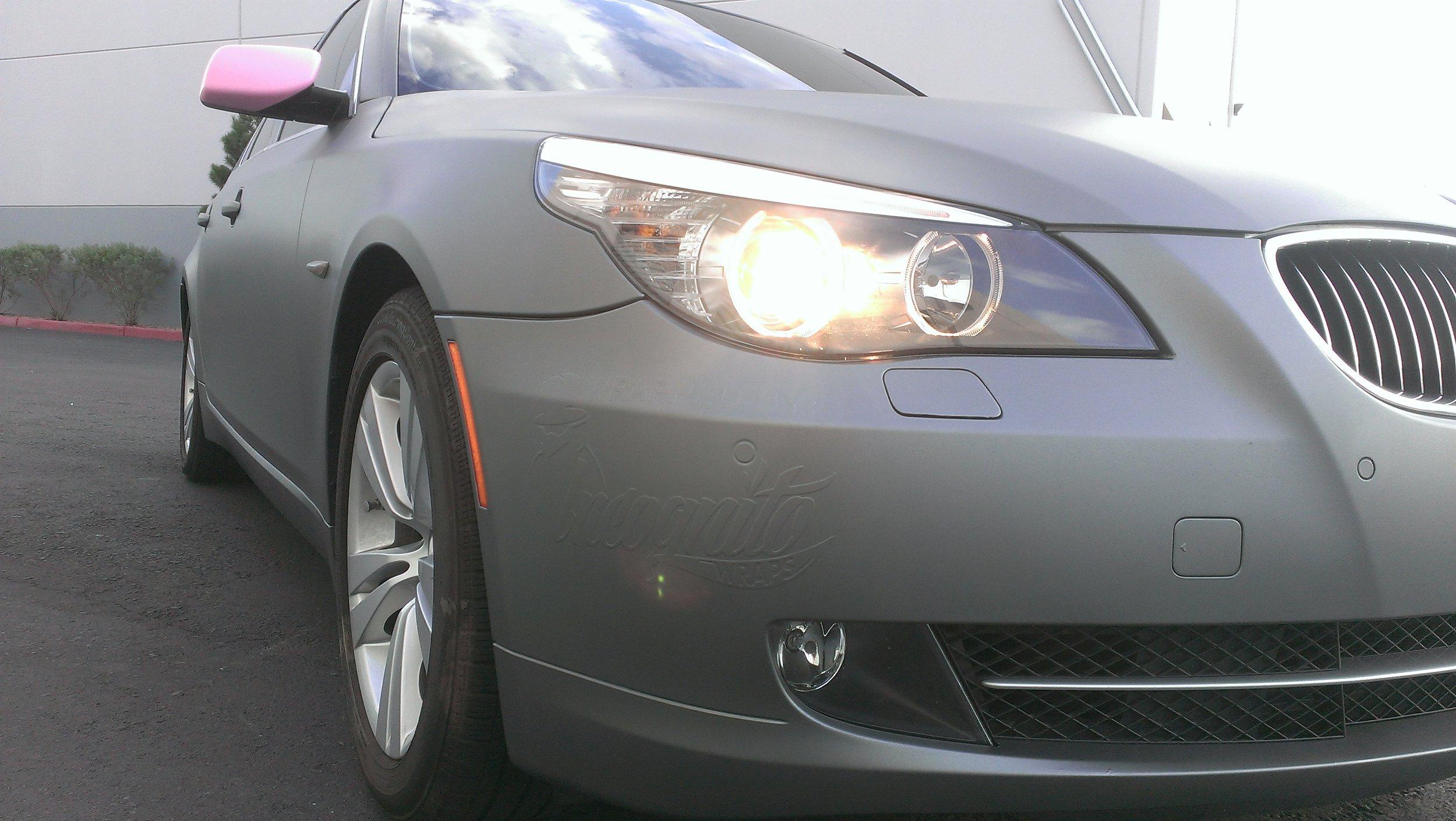BMW 528 Matte Gunmetal Metallic
