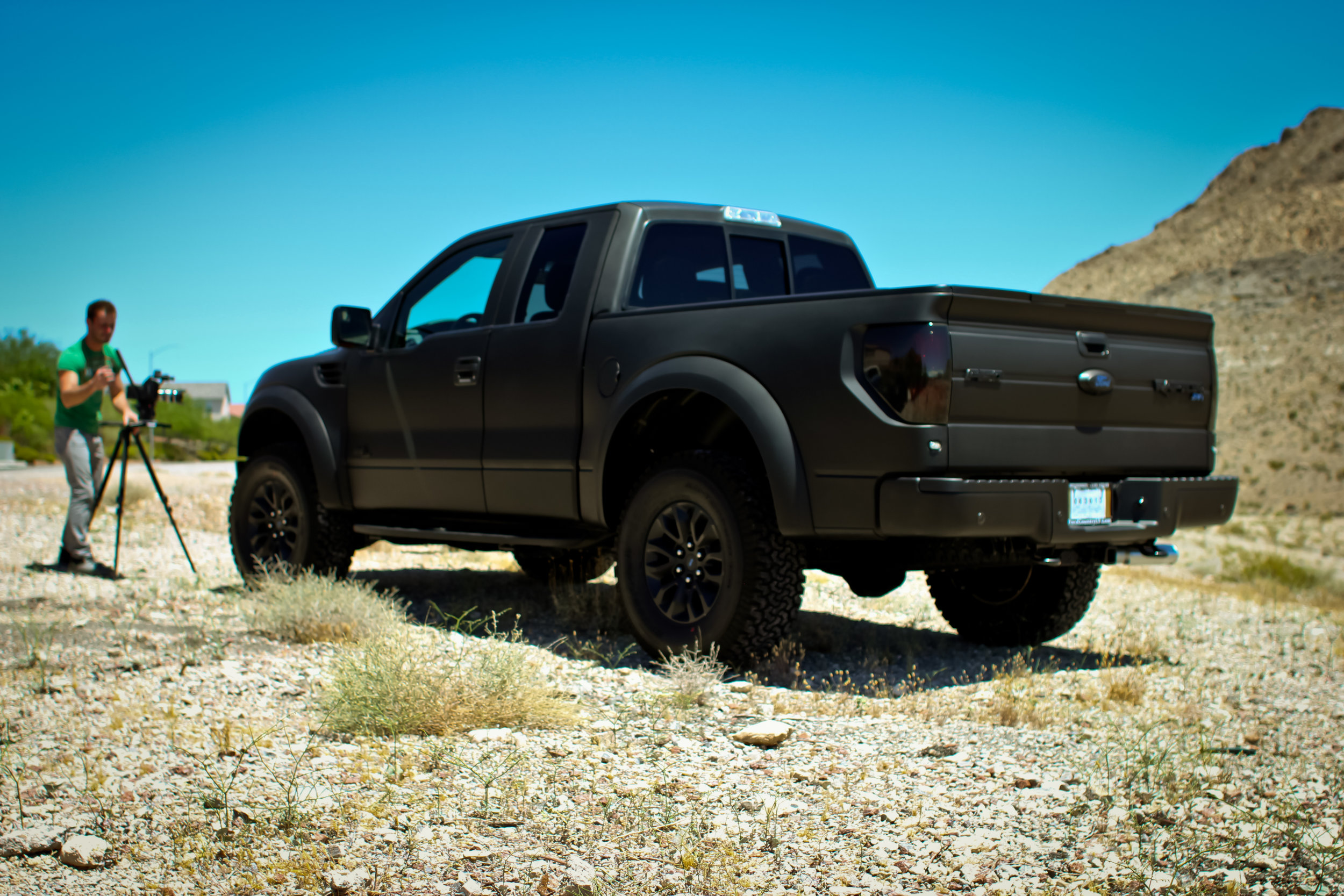 Ford Raptor Matte Black