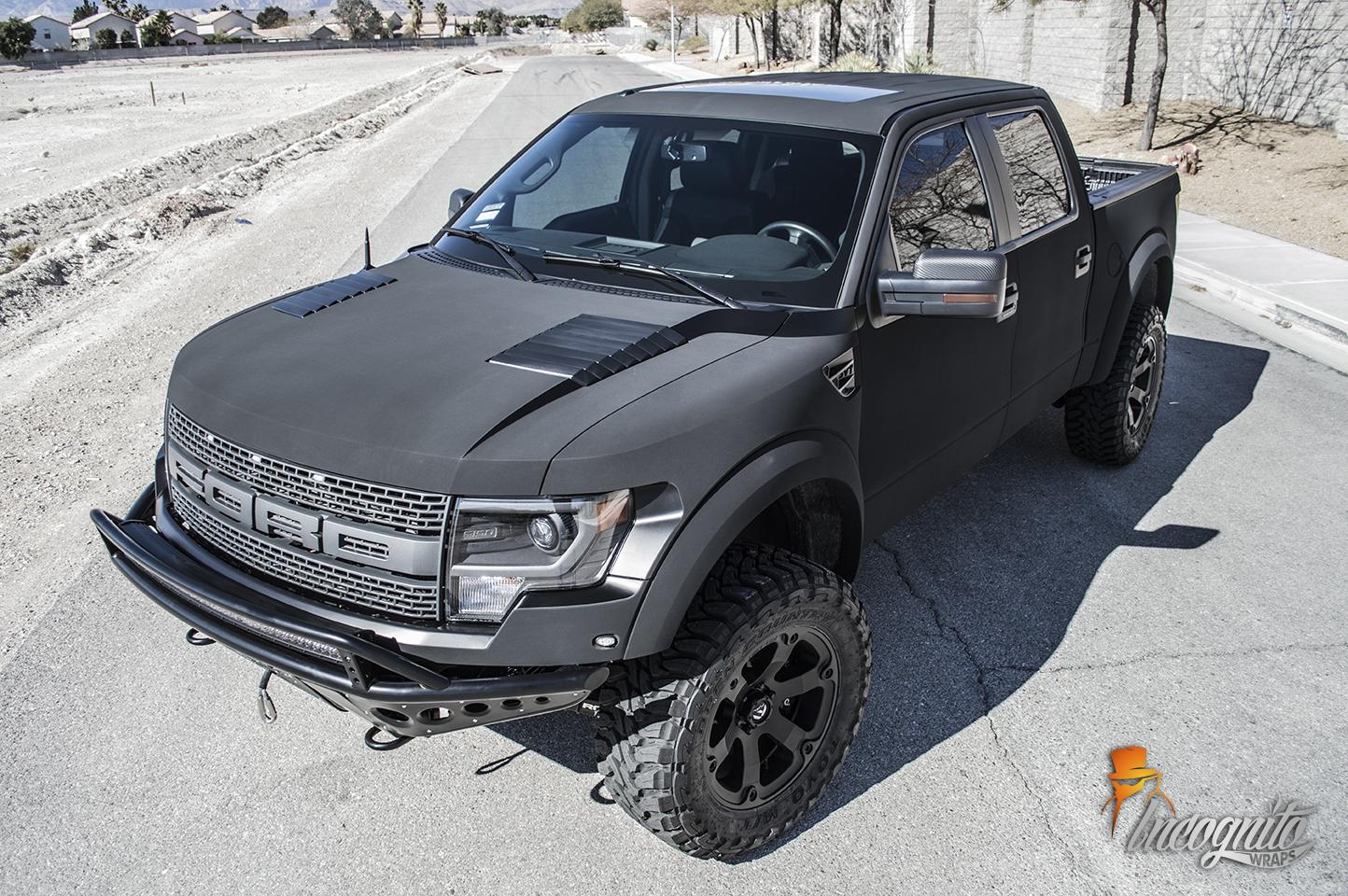 Ford Raptor Ultra Matte Black
