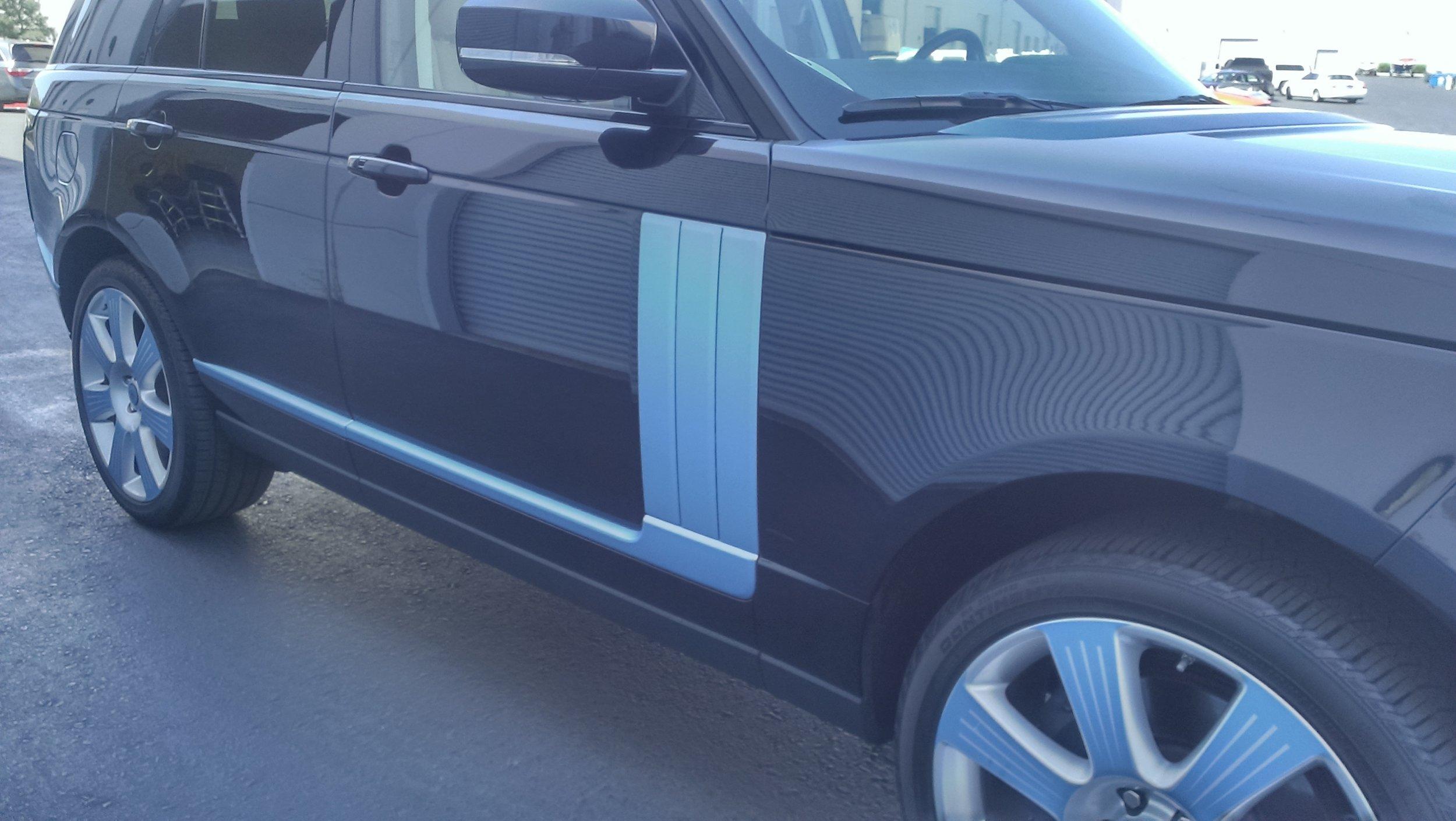 Range Rover Matte Powder Blue