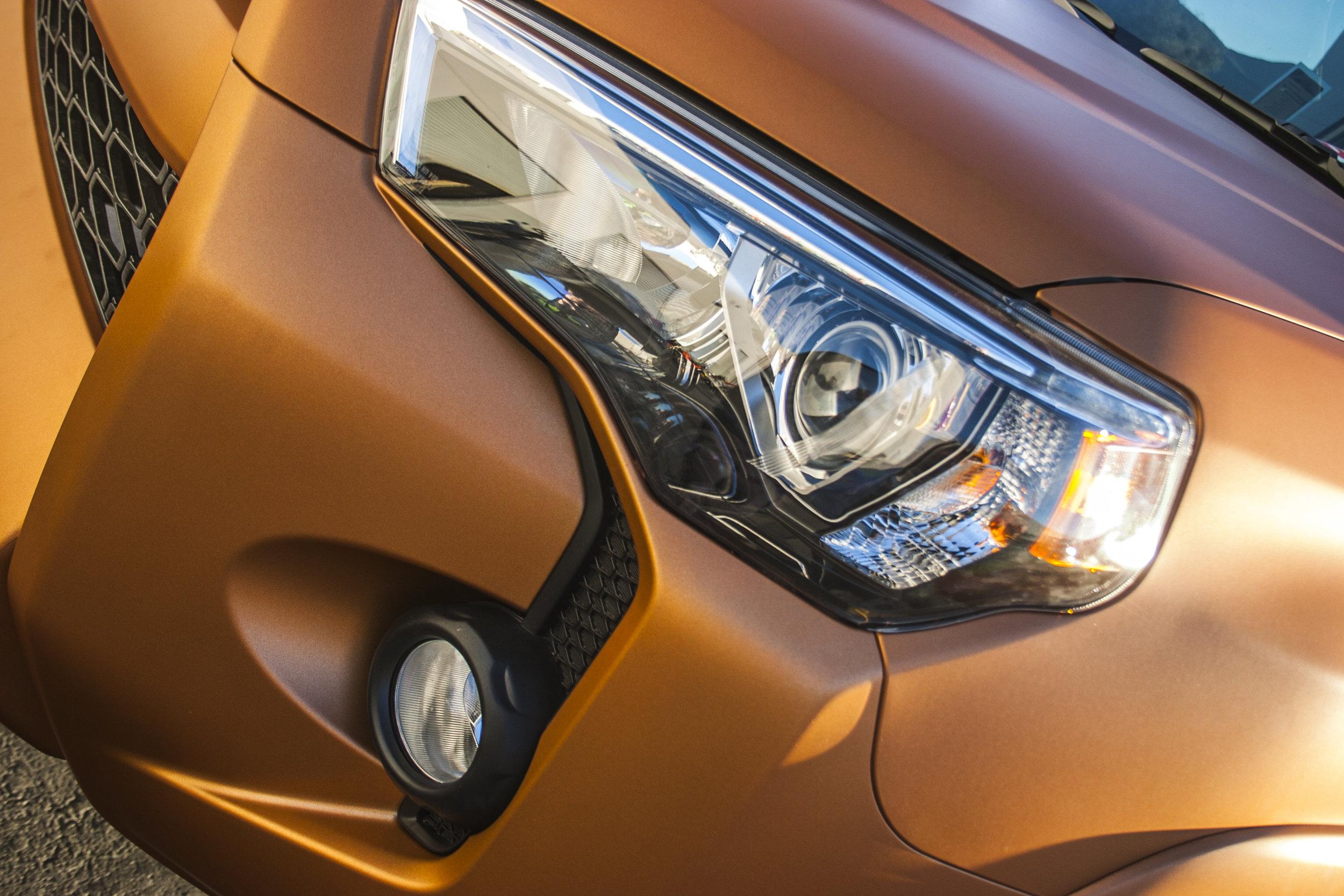Toyota 4Runner Matte Blazing Orange