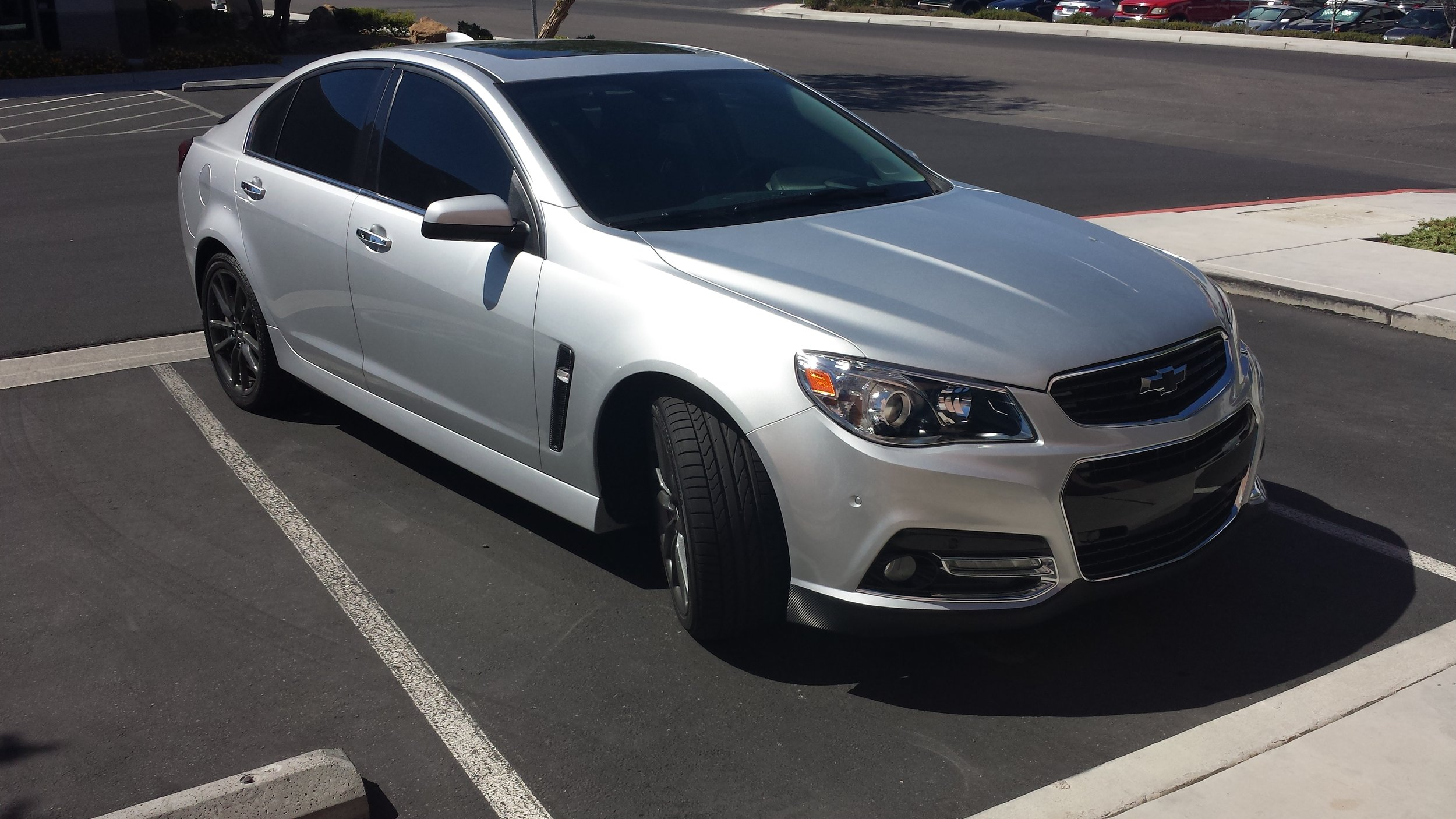 Chevy SS Carbon Fiber Accents
