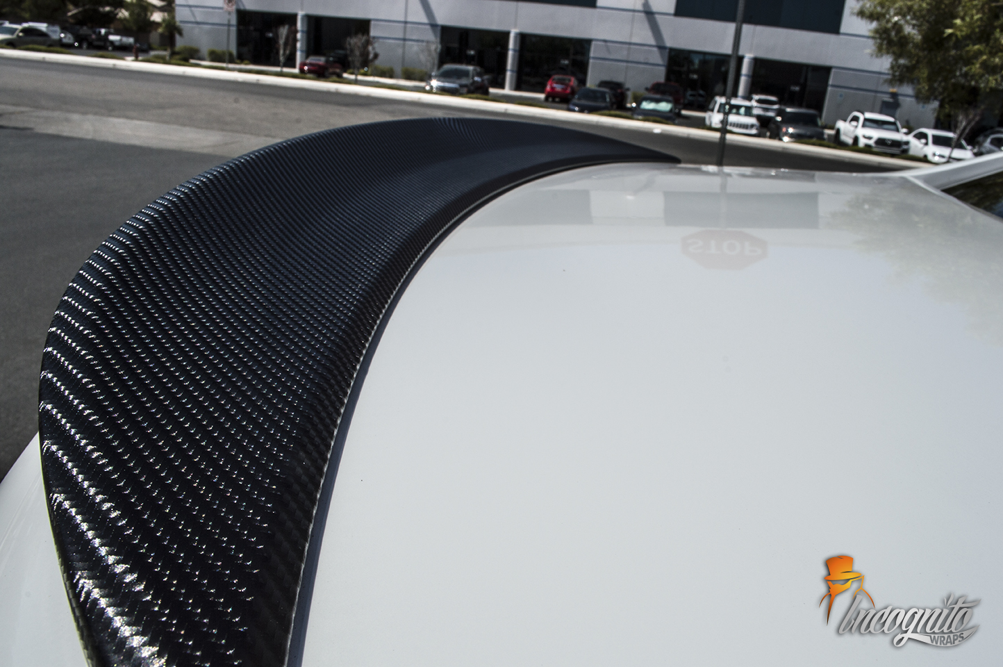 Chevy SS Carbon Fiber Roof and Spoiler