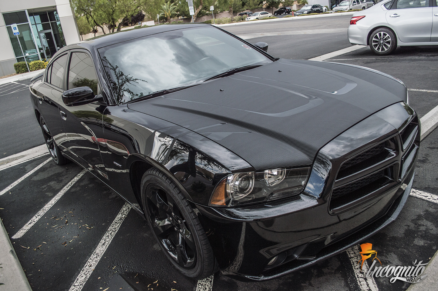 Dodge Charger RT Raw Carbon Fiber Hood