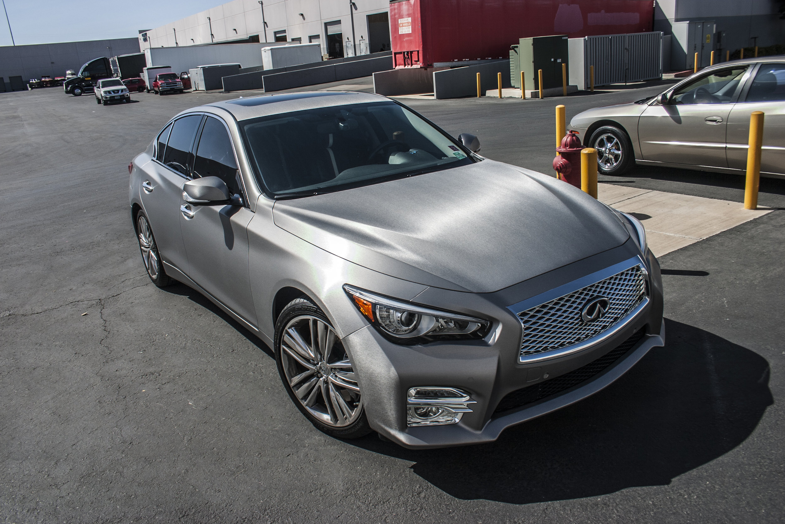 Infiniti Q50 Brushed Steel