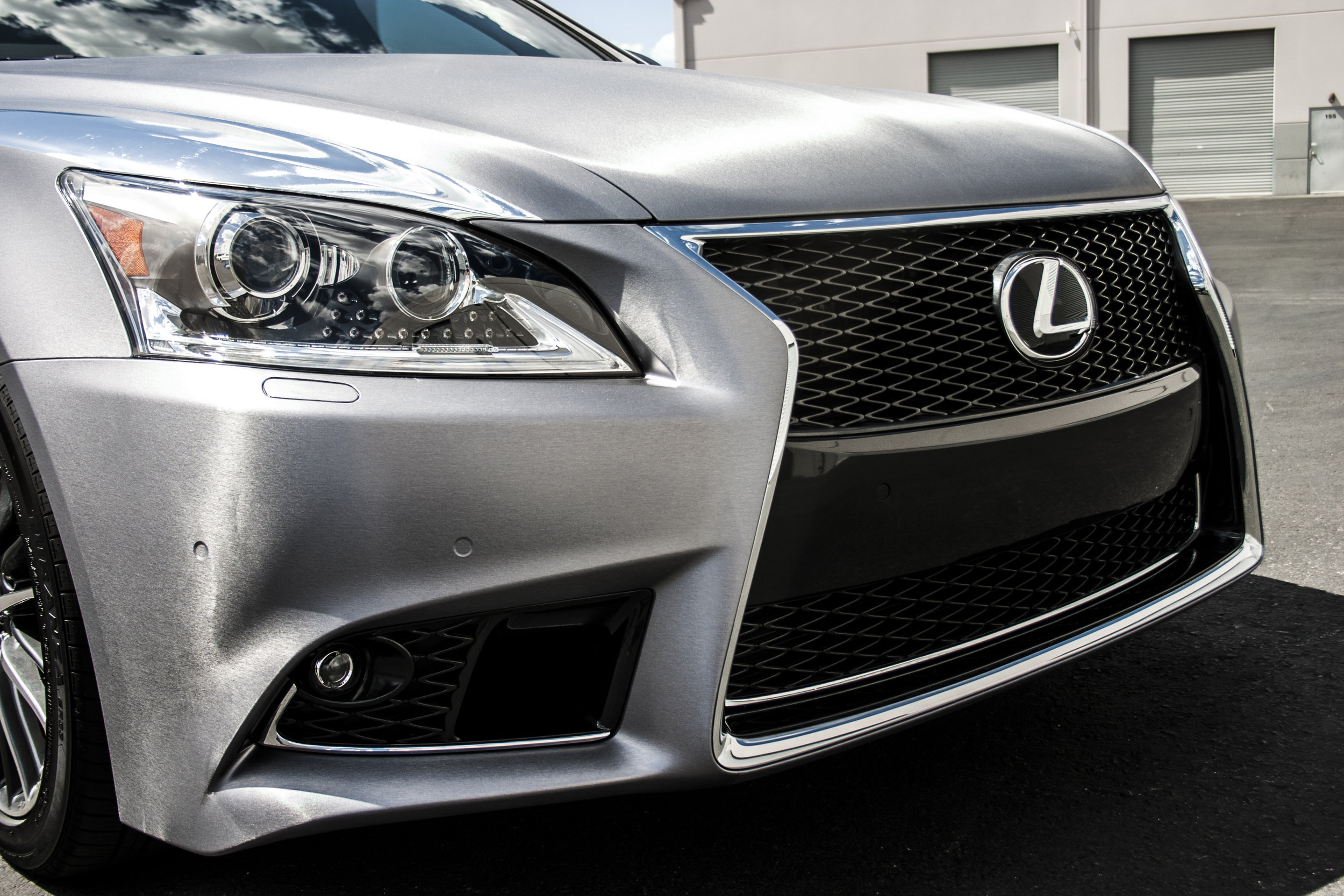 Lexus LS460 Brushed Steel