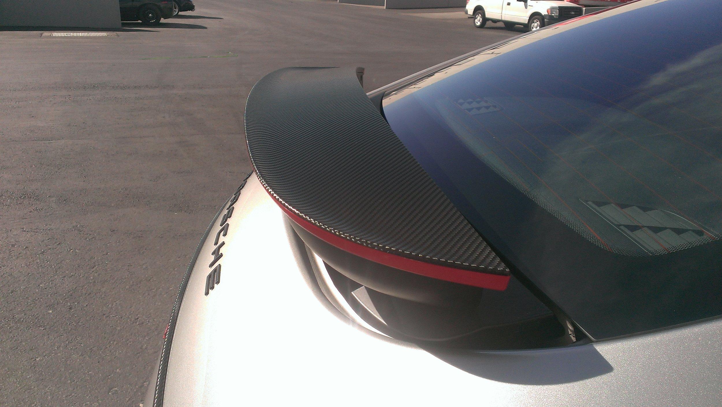 Porsche Panamera Carbon Accents