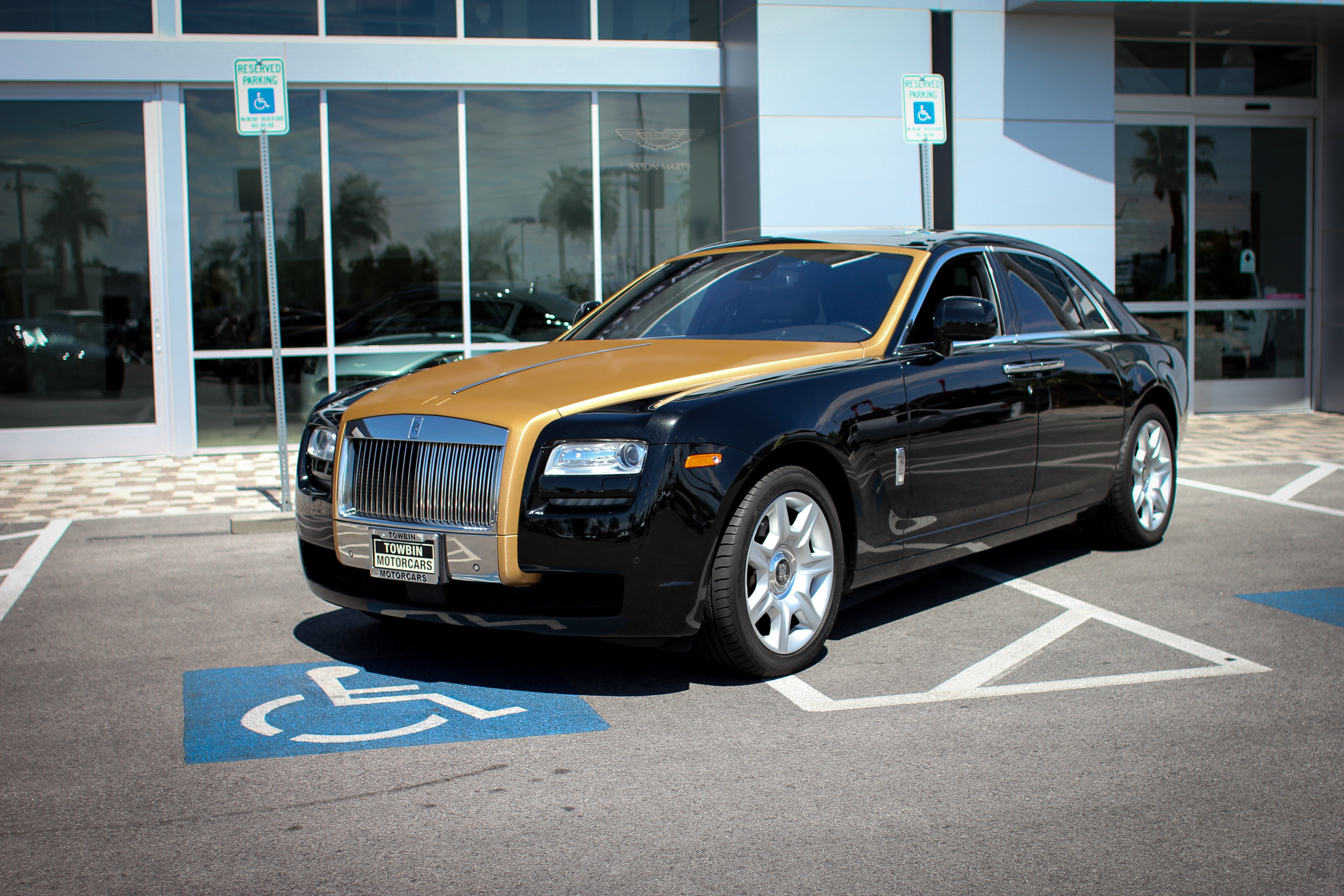 Rolls Royce Ghost Brushed Bronze