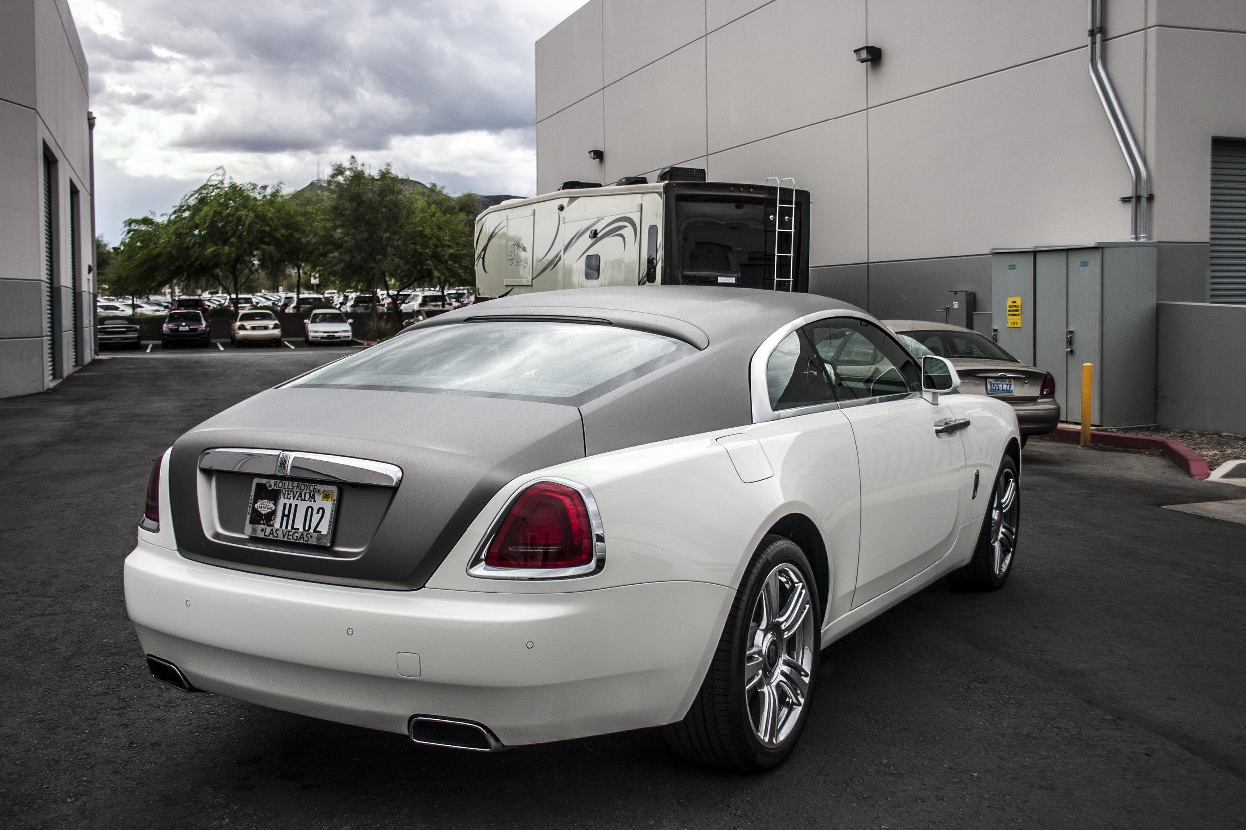Rolls Royce Wraith Brushed Titanium