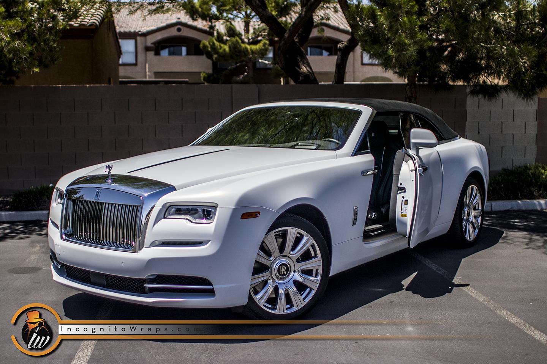 Rolls Royce Dawn Satin Frozen Vanilla