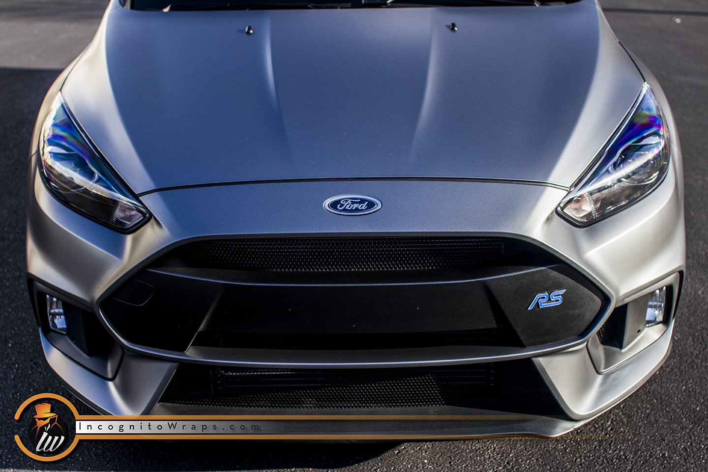 Ford Focus RS Satin Matte Graphite Grey