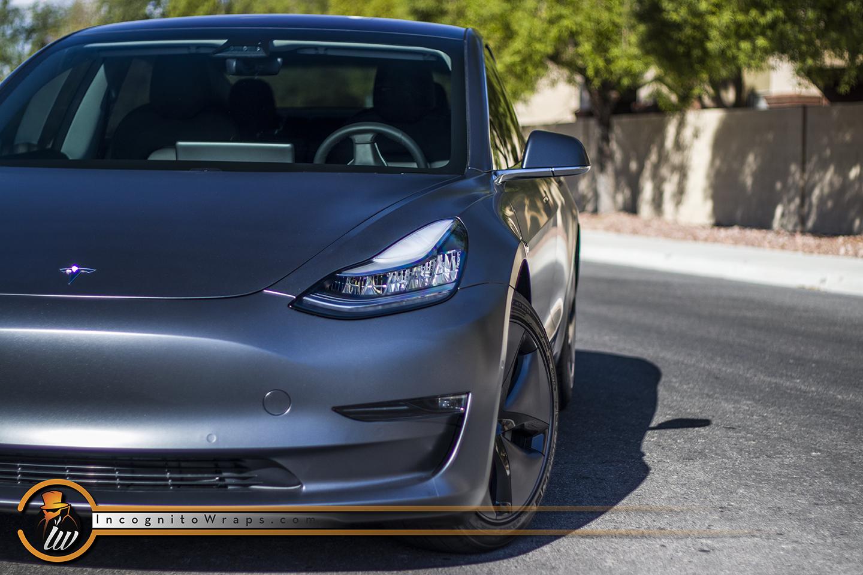 Tesla Model 3 Stealth Charcoal