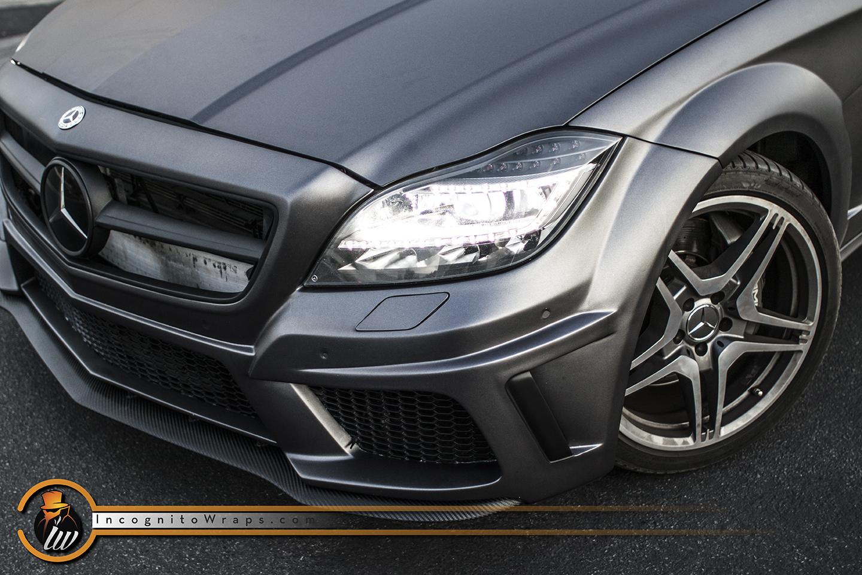 Mercedes CLS 63 - Matte Grey Aluminum