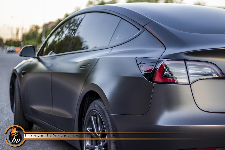 Tesla Model 3 - Satin Nero
