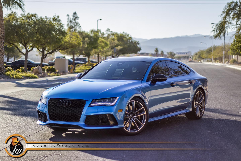 Audi RS7 - Azure Blue Metallic