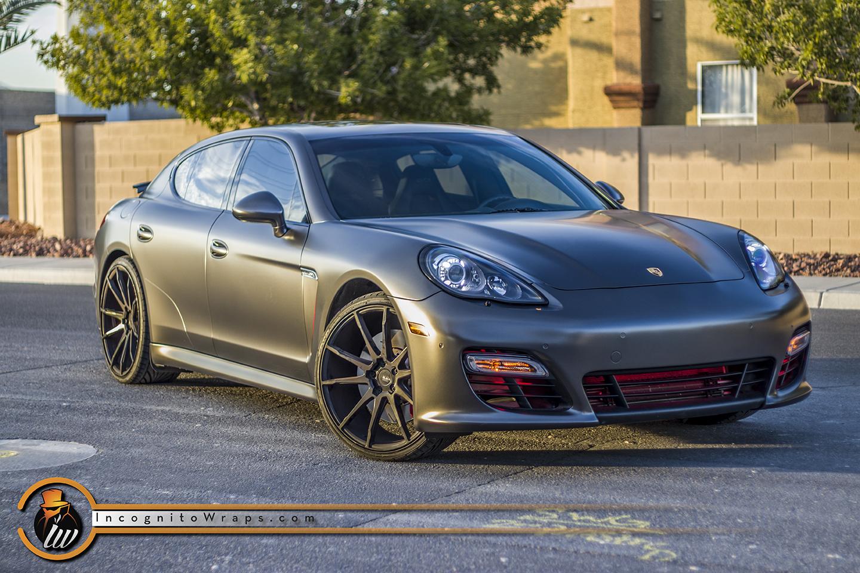 Porsche Panamera GTS - Satin Nero
