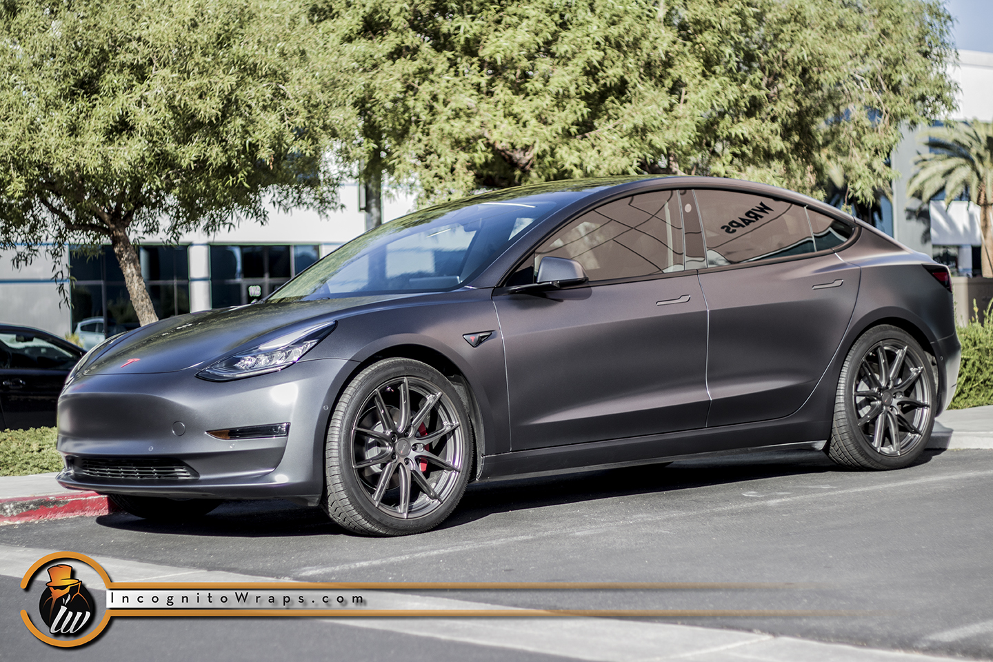 Tesla Model 3 - Stealth PPF on Midnight Silver