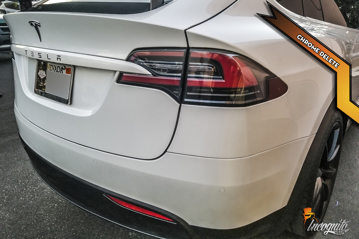 Model X - Pearl Chrome Delete