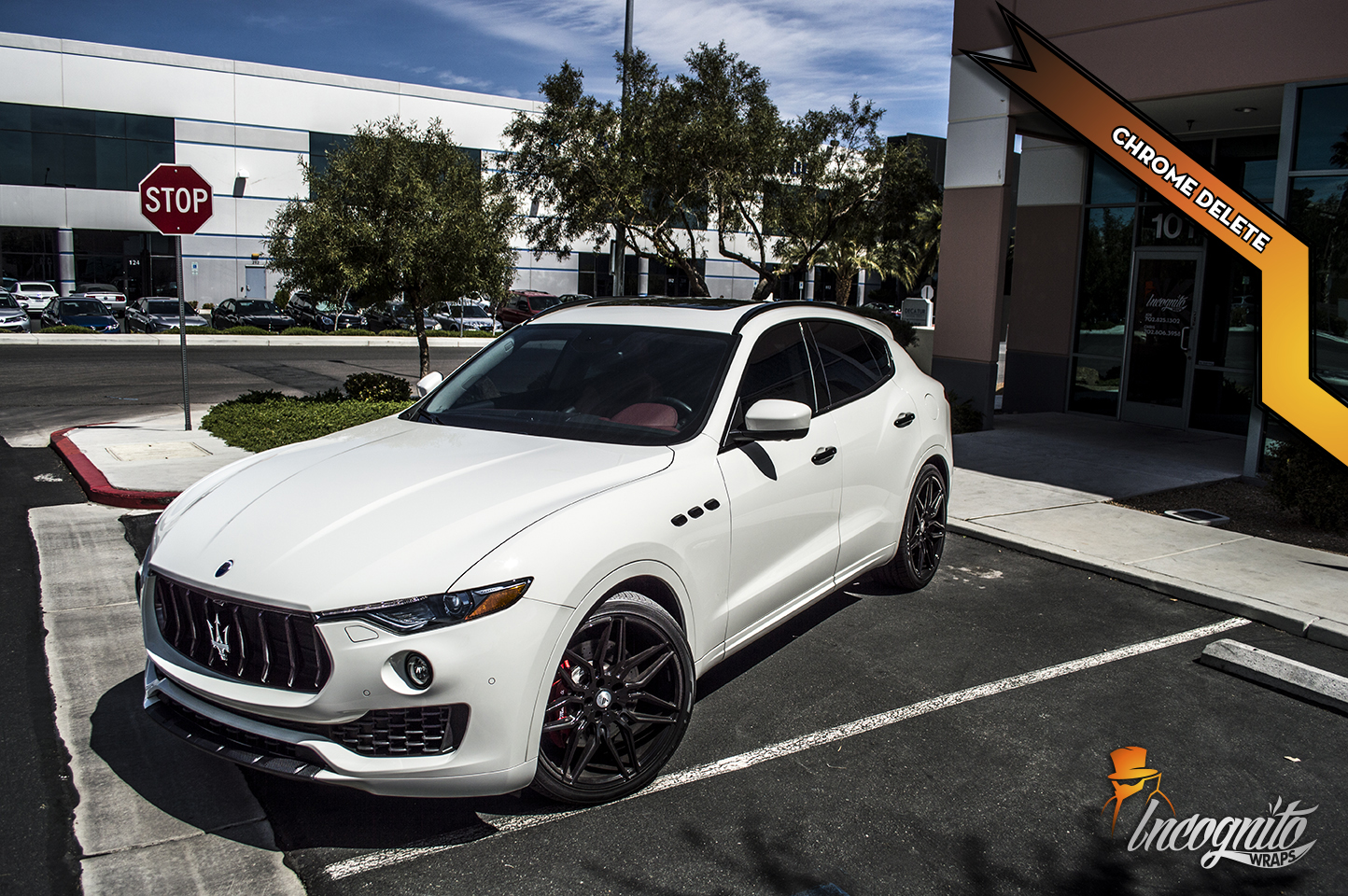 Maserati Levante - Gloss Black Chrome Delete