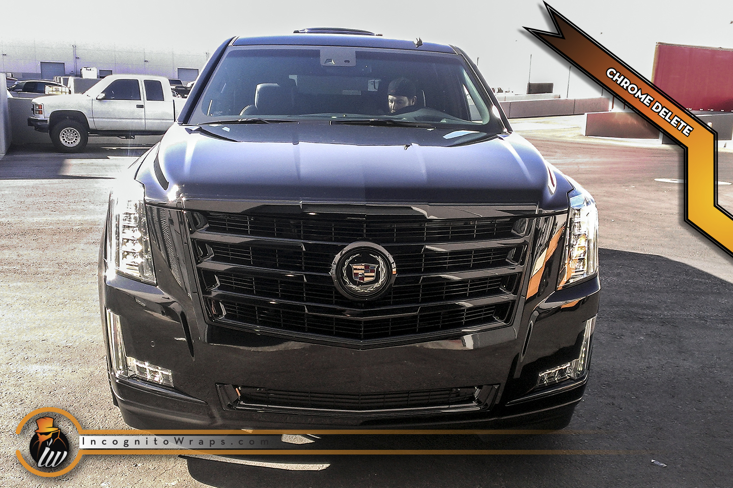 Cadillac Escalade - Gloss Black Chrome Delete