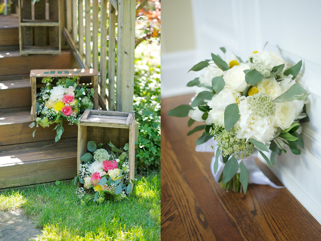surprise backyard wedding oakville ontario planner kj and co