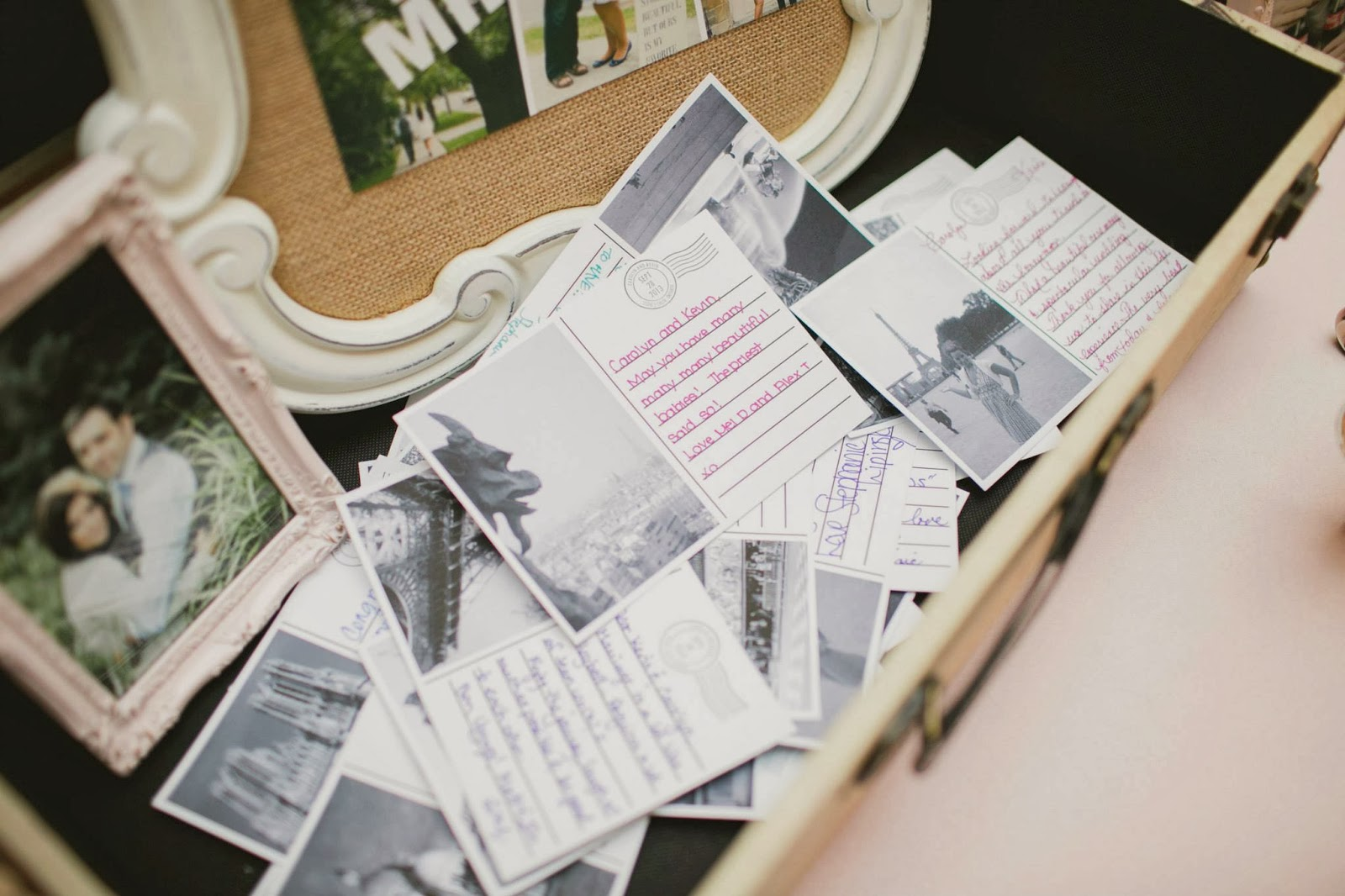 post card guestbook elizabeth in love casablanca winery inn grimsby wedding photos, kj and co wedding burlington ontario planner