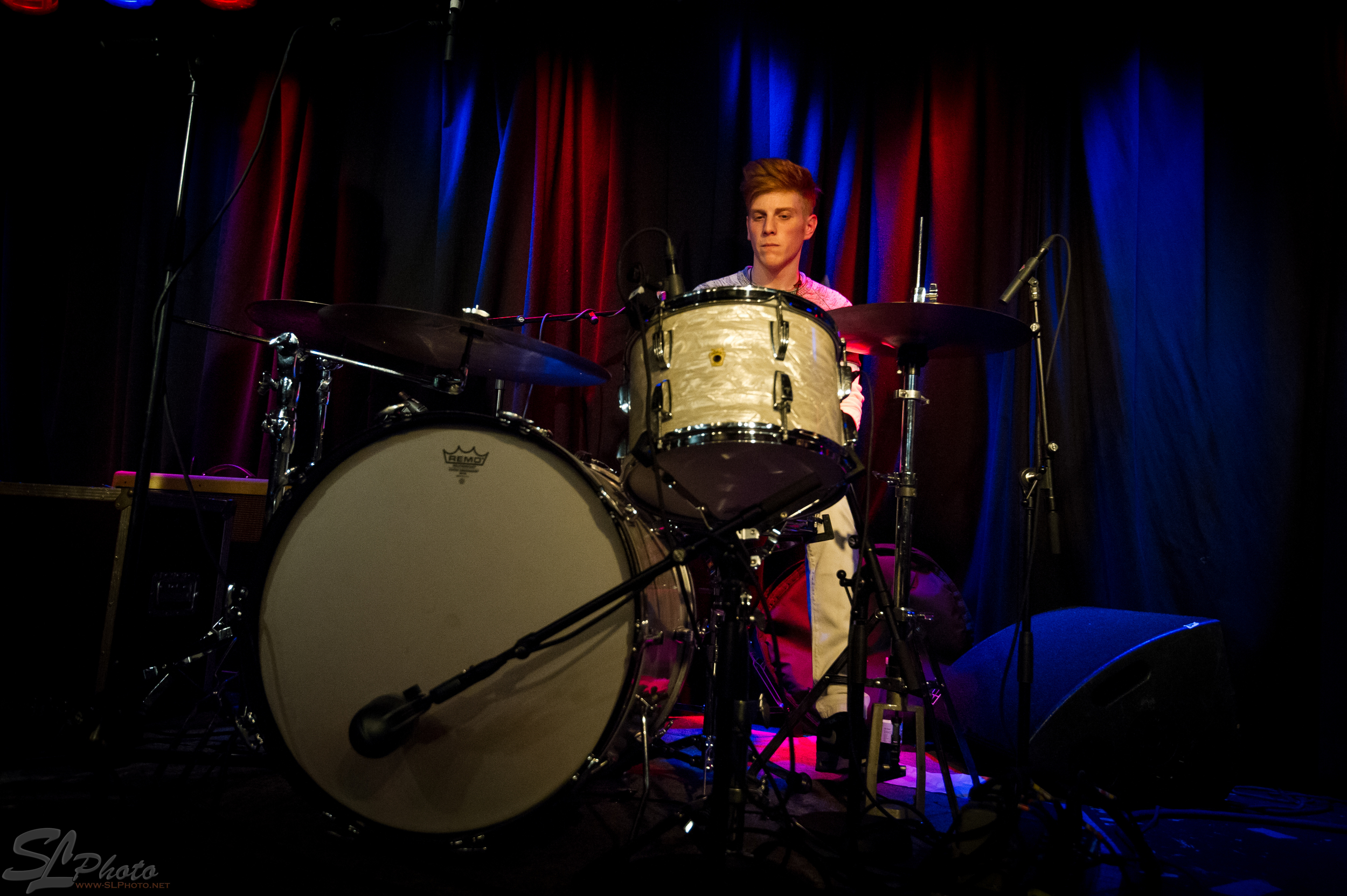 Levant Özdemir on the drums