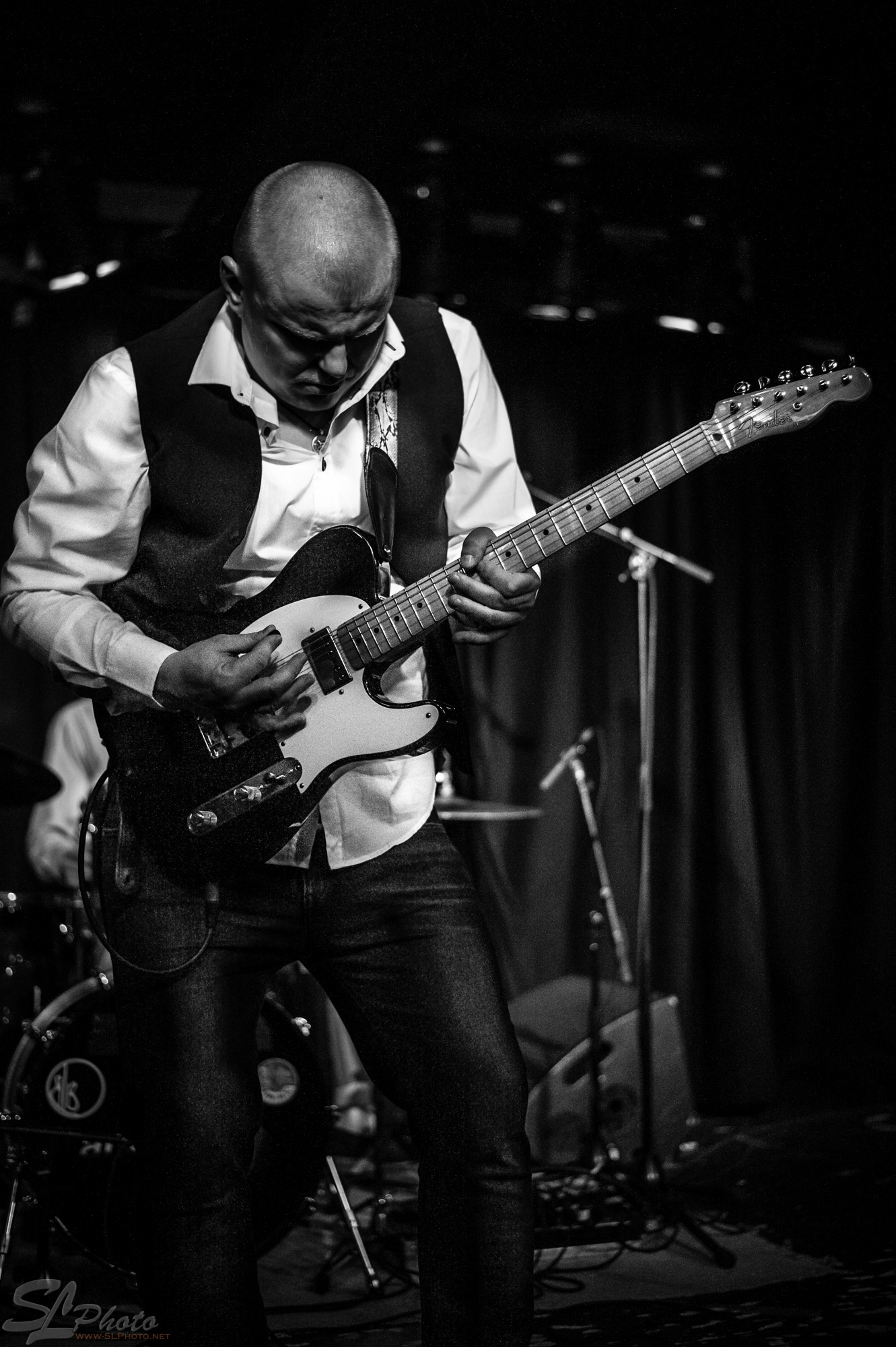 "Latvian Blues Band - Janis ""Bux"" Bukovski, guitar & vocals"