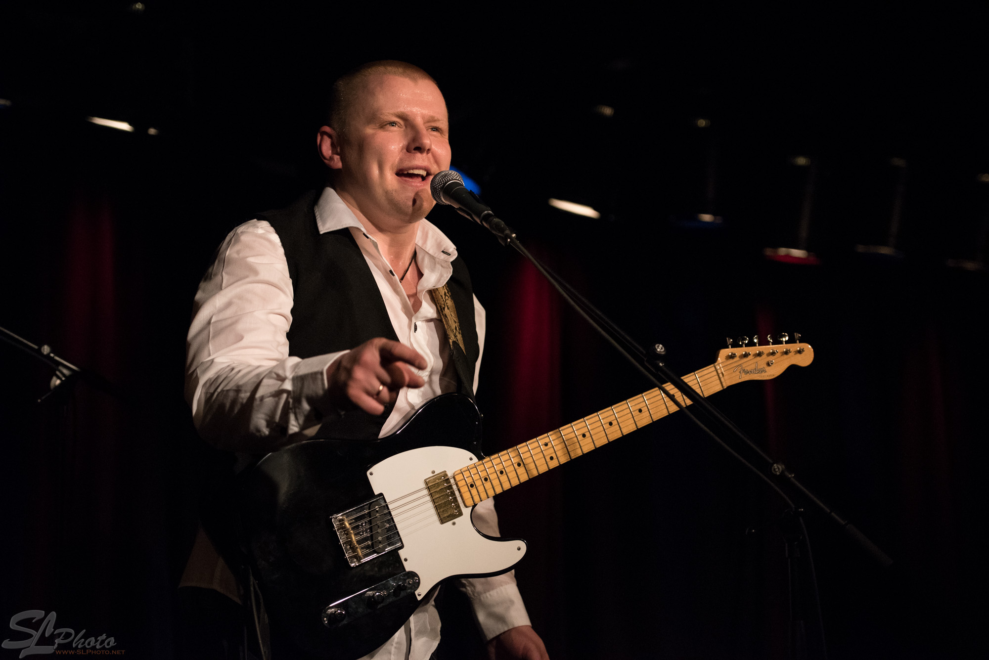 "Latvian Blues Band - Janis ""Bux"" Bukovski, guitar & vocals"