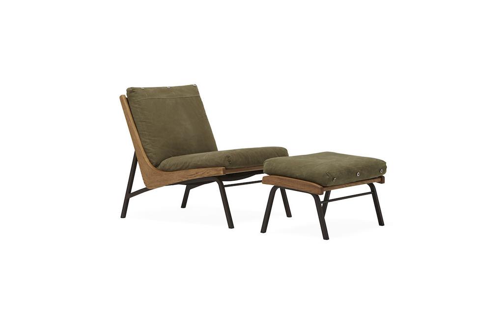 Boomerang chair + Ottoman  ( Stephen Kenn and Tokuhiko Kise of Truck Furniture collab)