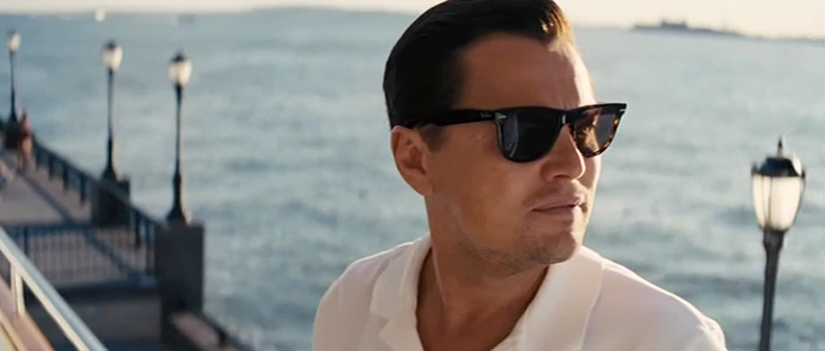 1.)RAY Ban RB4147 Wayfarer : They were iconic before the movie and even more so after the Wolf. Look great on an oval/square face.