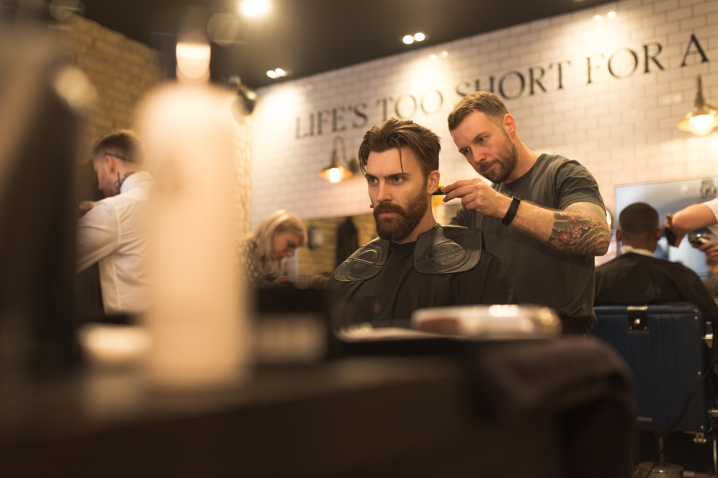 House 99 has us get cleaned up for the event at Ruffian's Barber Shop in Shoreditch which is another great spot to pop in.