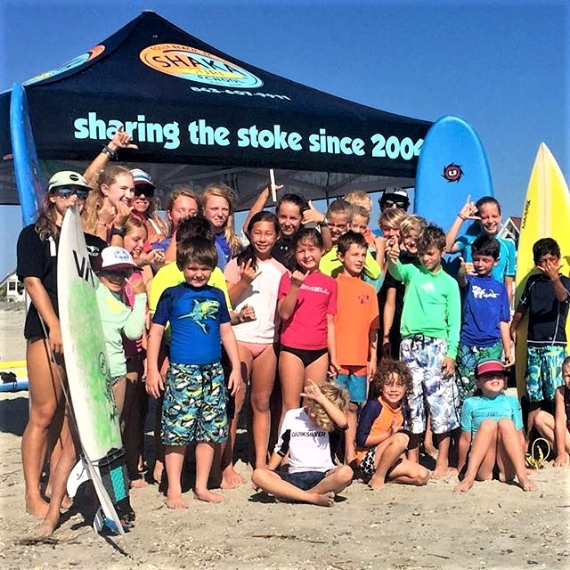 KIDS SUMMER CAMPS  Week long surf camps & surf+kayak camps for ages 7 to 17