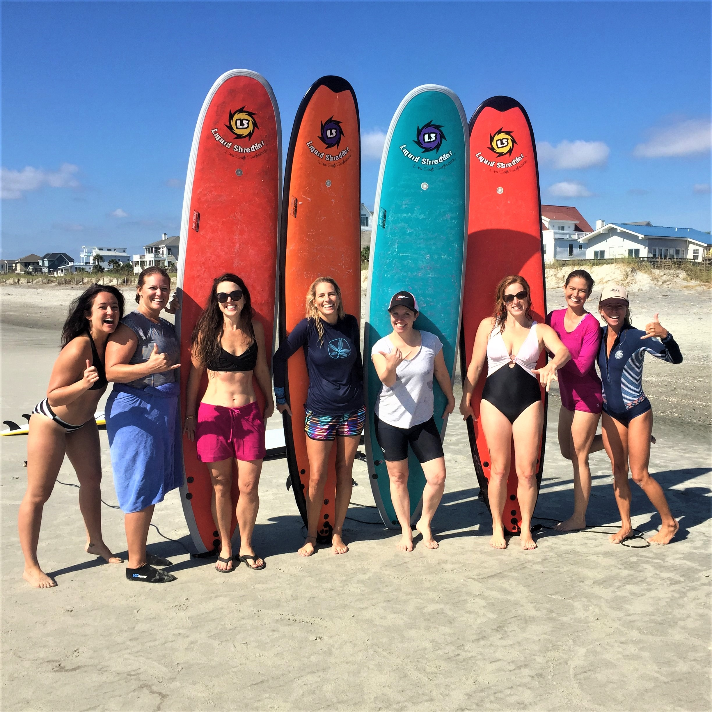 WOMENS SURF & YOGA  Saturday group classes, exotic excursions, & local getaways for women