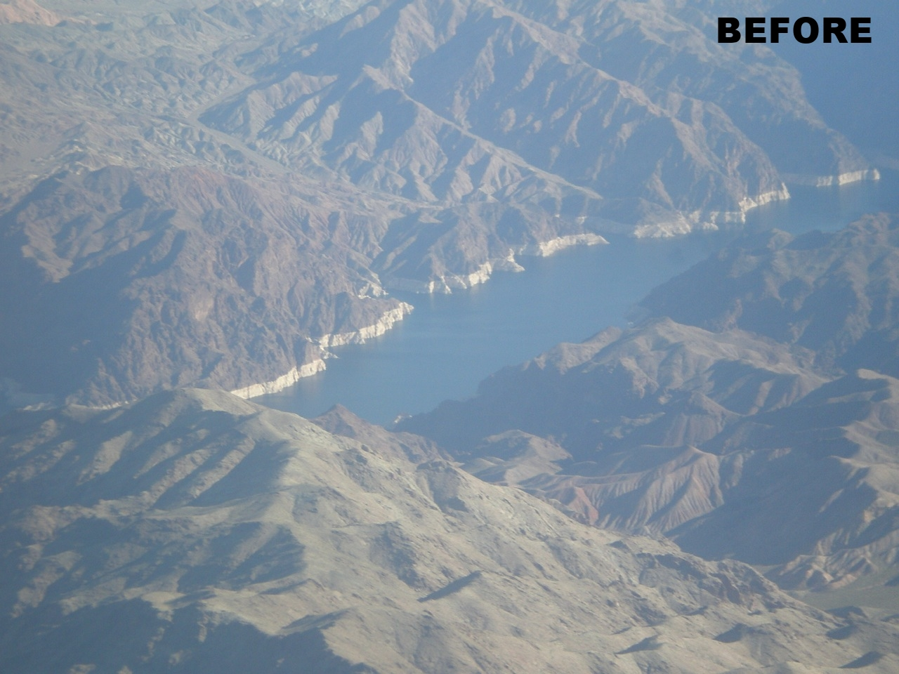 Mountain River - Before