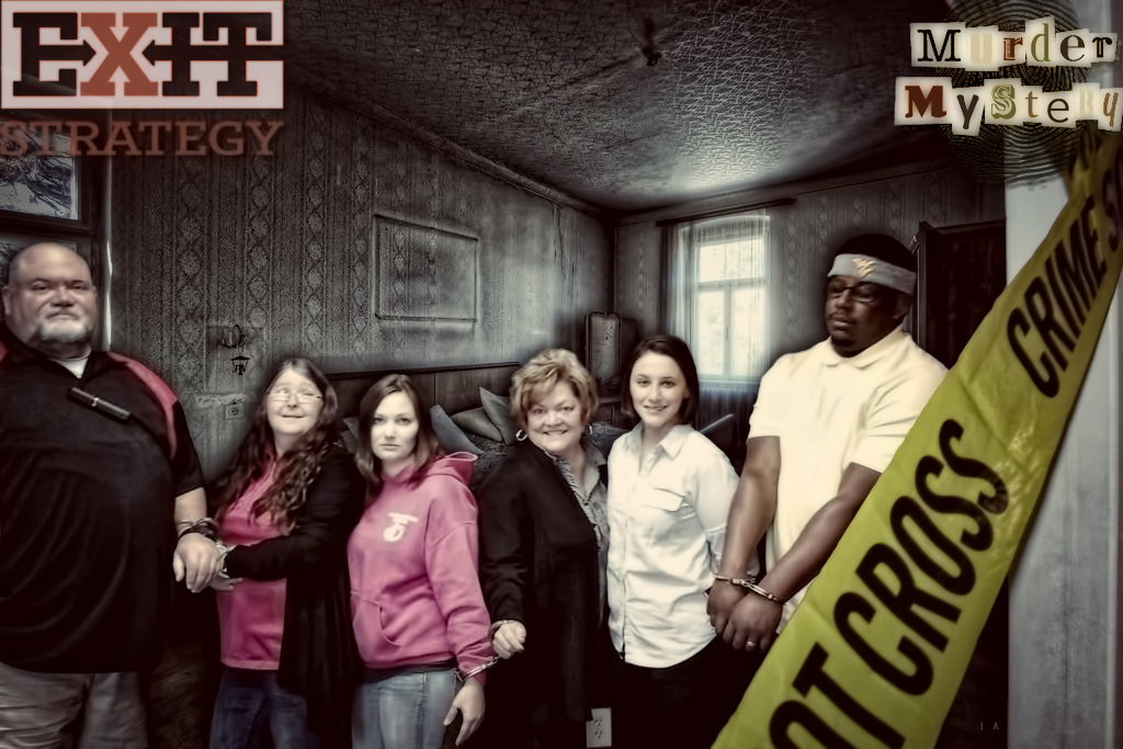 Exit Strategy - Murder Mystery Room
