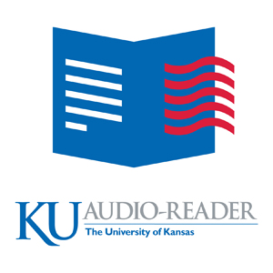 KU Audio-Reader - Lawrence, KSAudio-Reader, an audio information service for anyone who has difficulty reading standard printed material, airs more than 160 hours weekly of printed matter and special information to thousands of listeners throughout Kansas and western Missouri. Service is provided via closed circuit radio, Lions Telephone Reader and on CD or NLS cartridge. This unique programming is made possible by volunteer readers who record or broadcast the various newspapers, magazines and books offered through Audio-Reader. Audio-Reader volunteers include college students, teachers, doctors, homemakers, retirees and many others. They have a diversity of backgrounds and interests, but all share a common desire to help provide current information to those who can't read daily newspapers, magazines and best-selling books.Oct 12 | Oct 19 | Nov 9