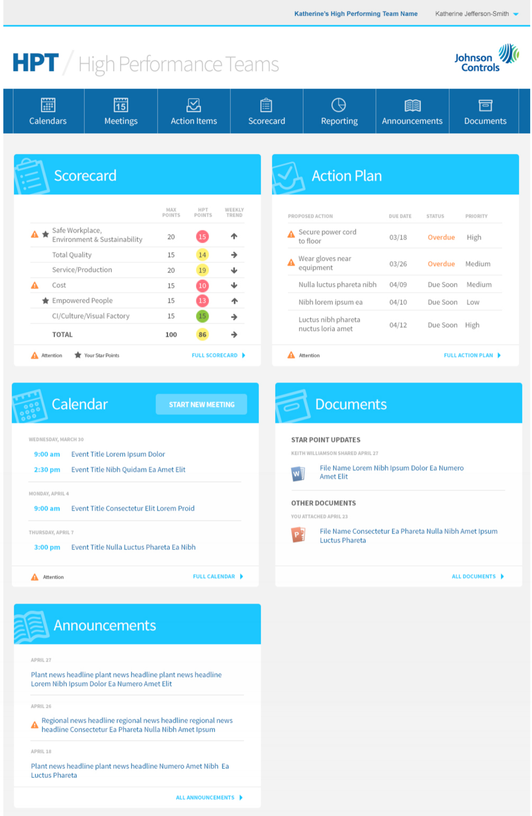 Desktop Dashboard Color Composite